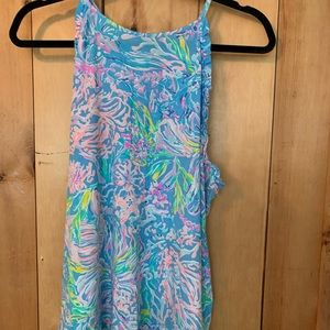 Lilly Pulitzer tank top with ruffle